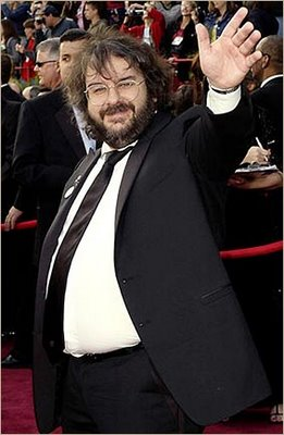 Comedy Central had a show planned for Peter Jackson until he lost weight and glasses.